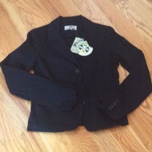 Juicy Couture Jeans Blazer Size M NWT